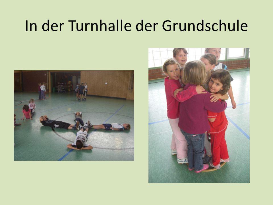 In der Turnhalle der Grundschule