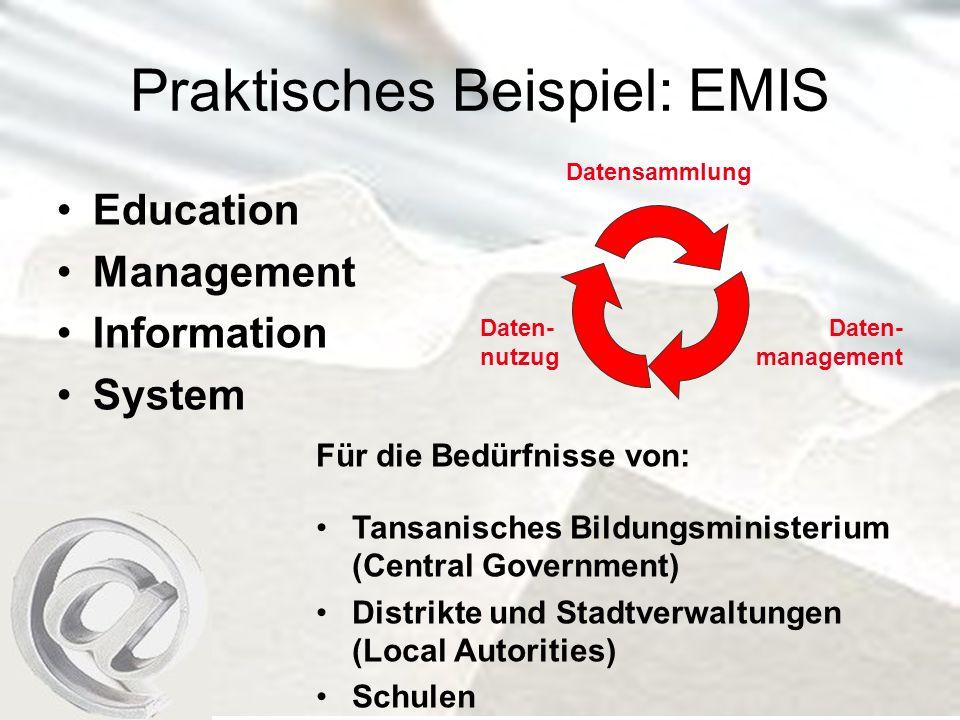 Praktisches Beispiel: EMIS
