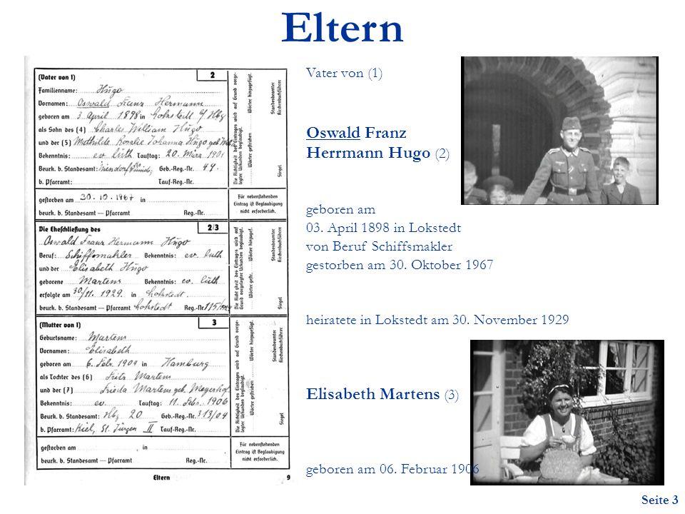 Eltern Oswald Franz Herrmann Hugo (2) Elisabeth Martens (3)