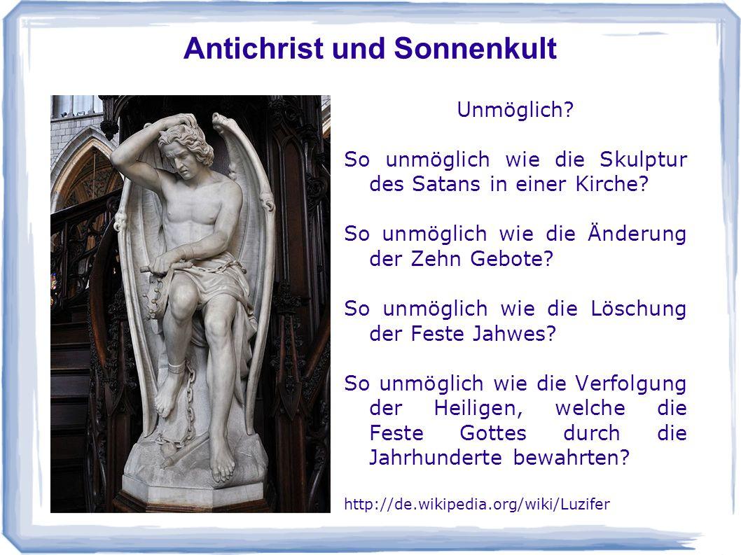 Antichrist und Sonnenkult