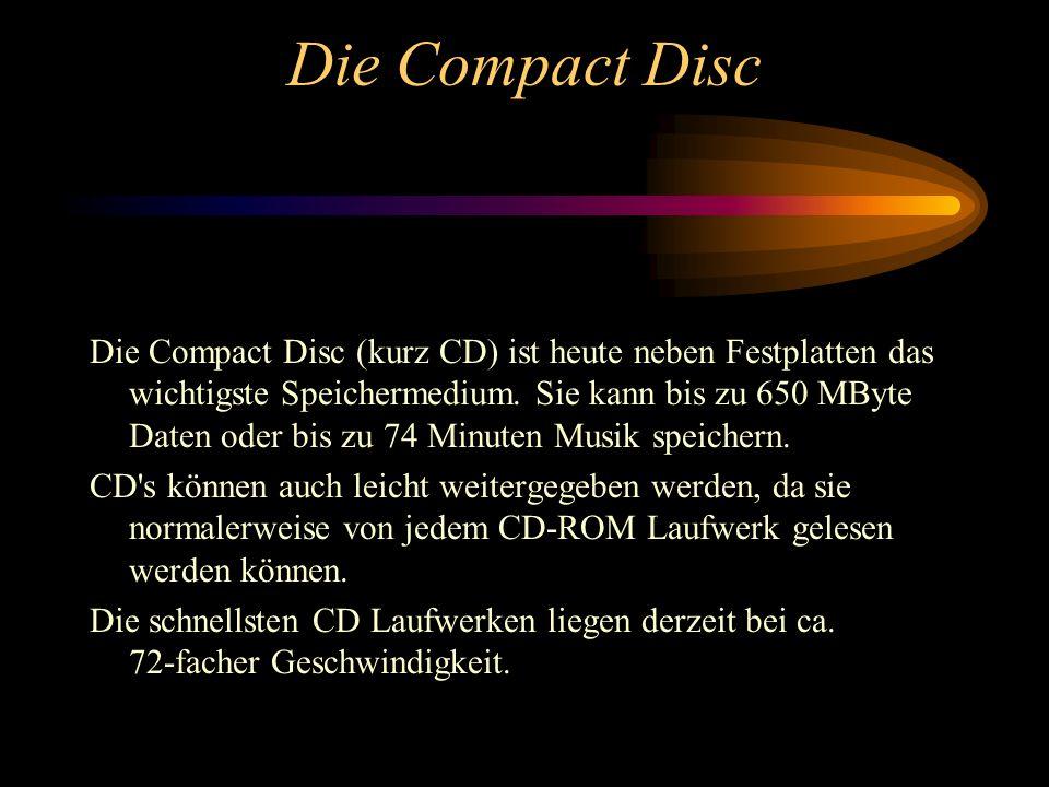 Die Compact Disc