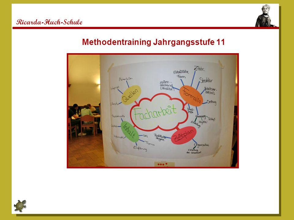 Methodentraining Jahrgangsstufe 11