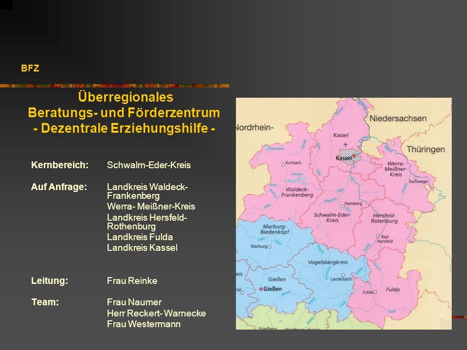 Beratungs- und Förderzentrum - Dezentrale Erziehungshilfe -