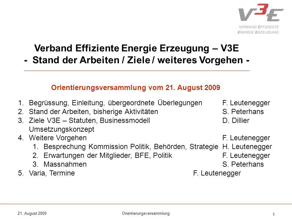 Verband Effiziente Energie Erzeugung – V3E