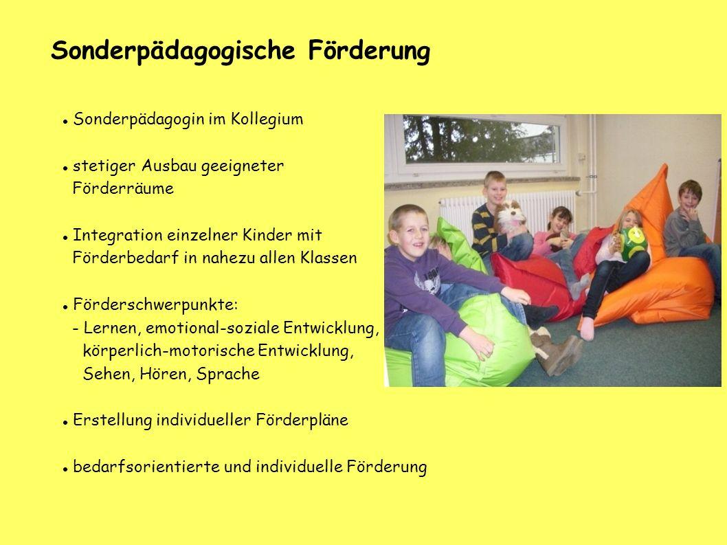 Sonderpädagogische Förderung