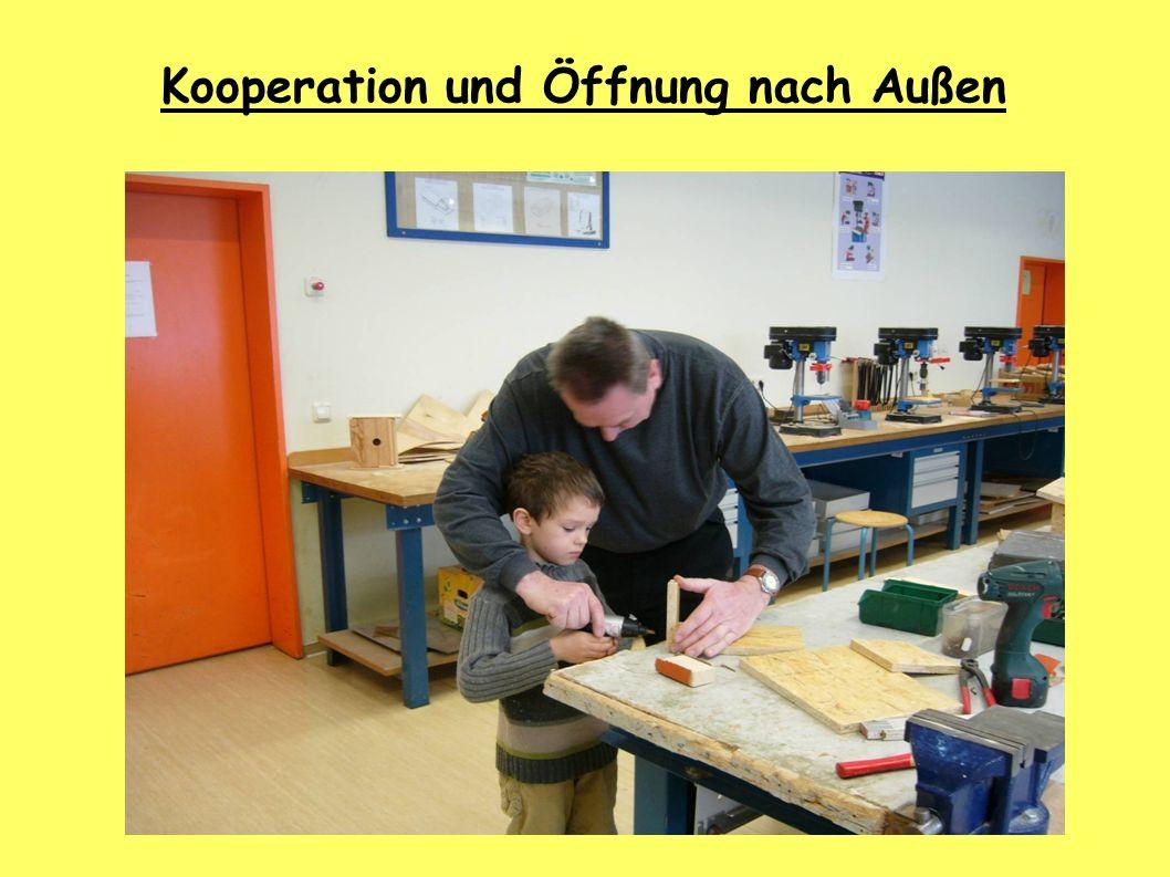 Kooperation und Öffnung nach Außen