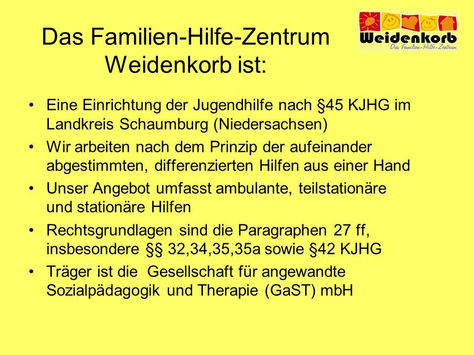 Das Familien-Hilfe-Zentrum Weidenkorb ist: