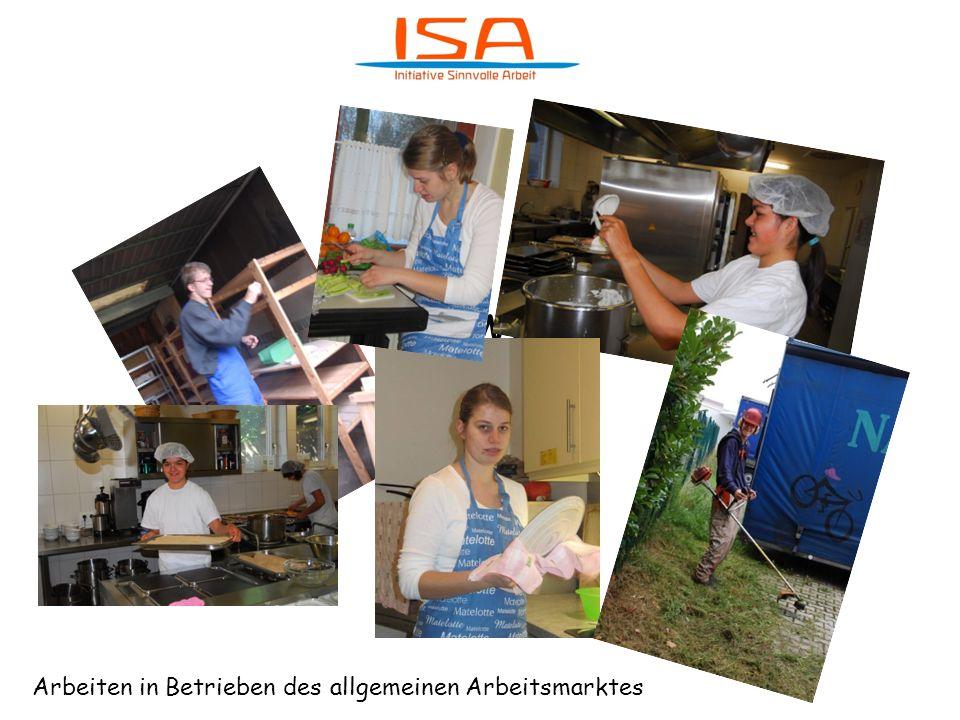 Was machen wir bei ISA Arbeiten in Betrieben des allgemeinen Arbeitsmarktes