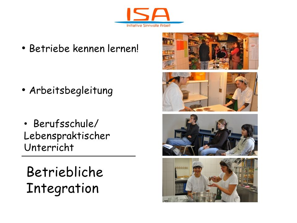 Betriebliche Integration
