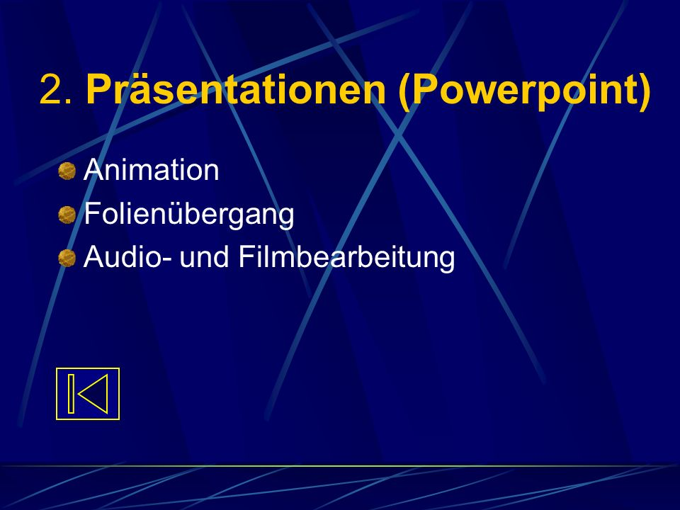 2. Präsentationen (Powerpoint)