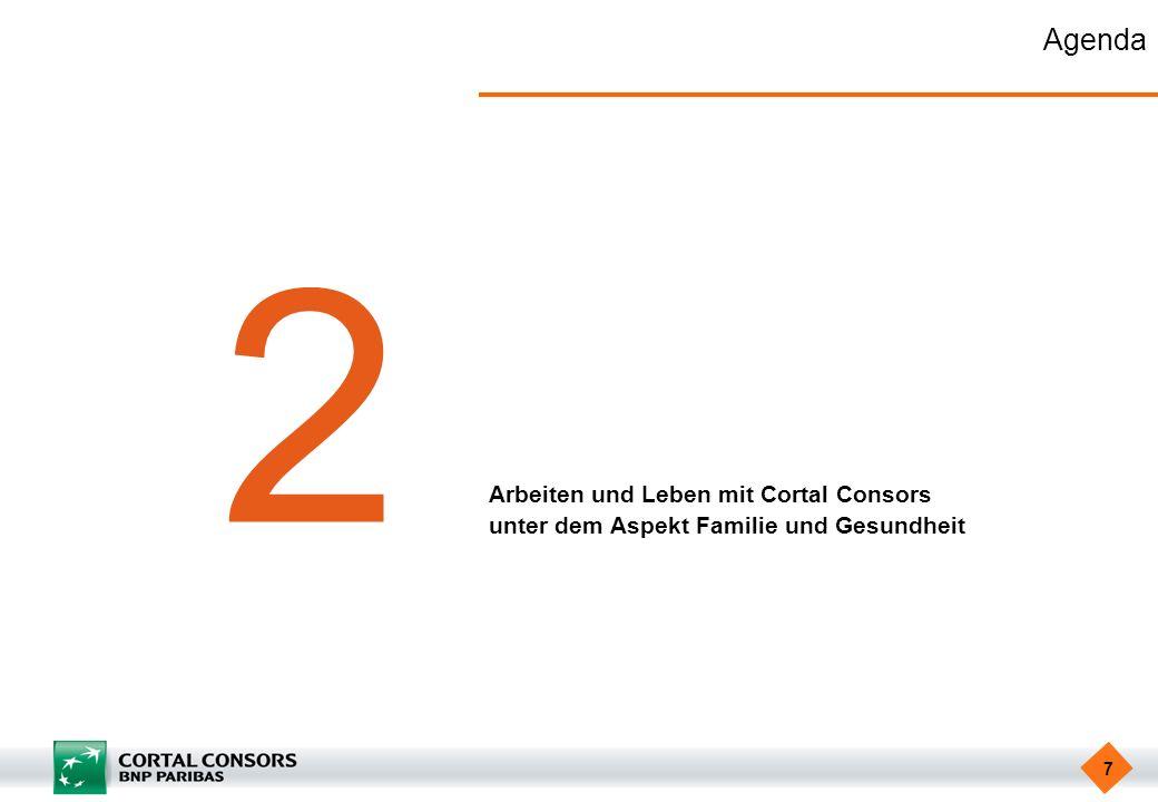 2 Agenda Arbeiten und Leben mit Cortal Consors