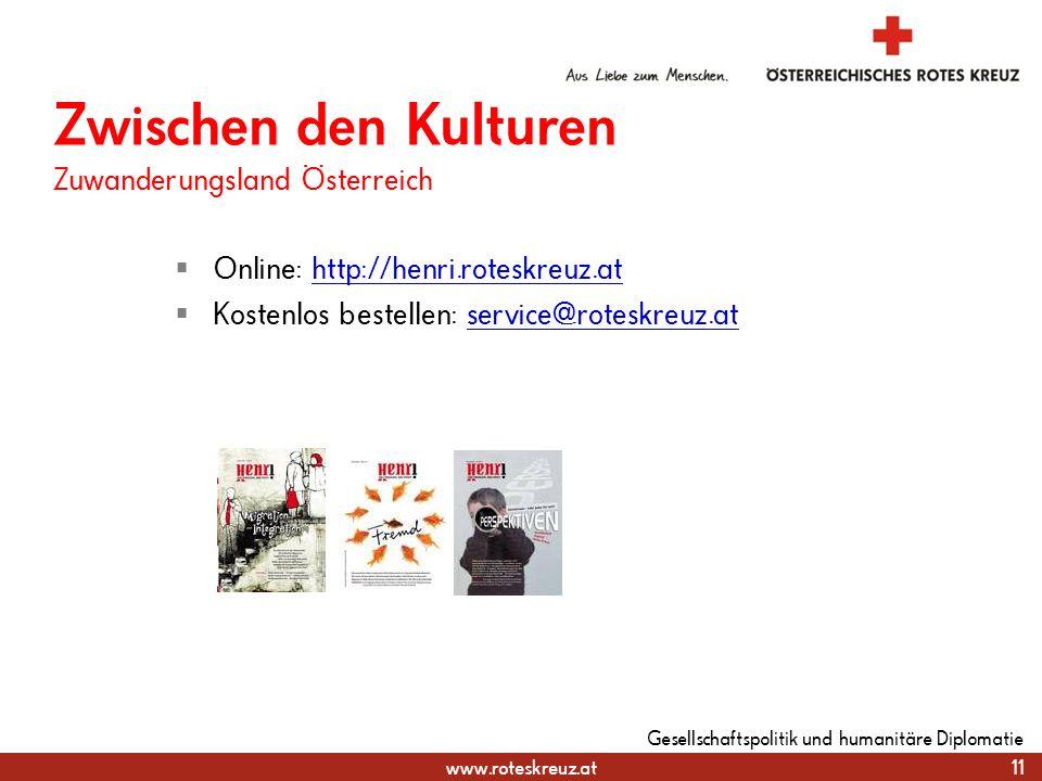 Zwischen den Kulturen Zuwanderungsland Österreich