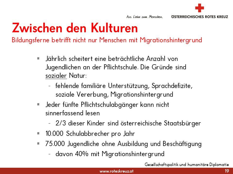 31.03.2017 Zwischen den Kulturen Bildungsferne betrifft nicht nur Menschen mit Migrationshintergrund.