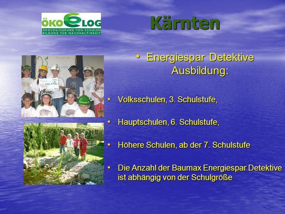 Energiespar Detektive Ausbildung: