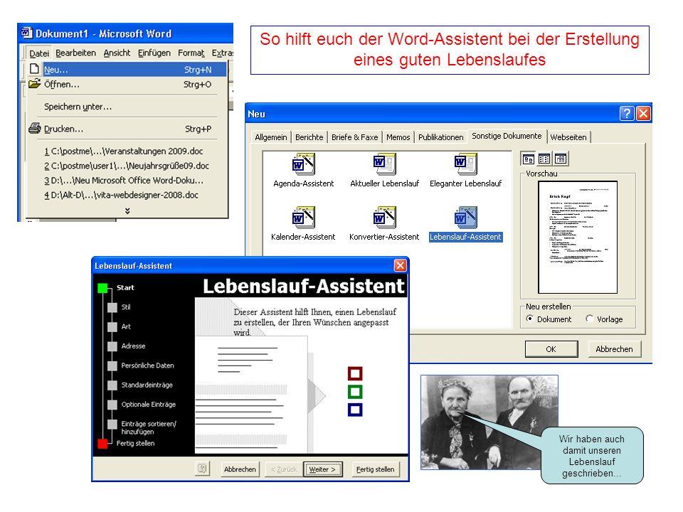 Ausgezeichnet Hilfe Machen Lebenslauf Microsoft Word Zeitgenössisch ...
