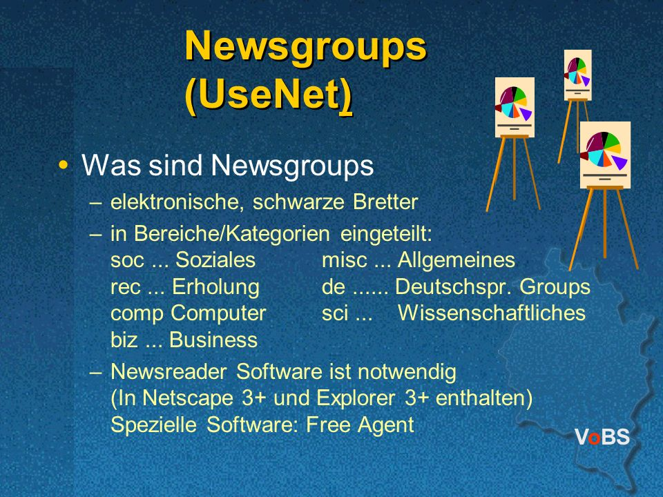Newsgroups (UseNet) Was sind Newsgroups