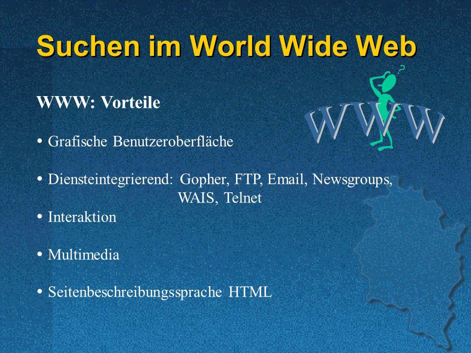 Suchen im World Wide Web