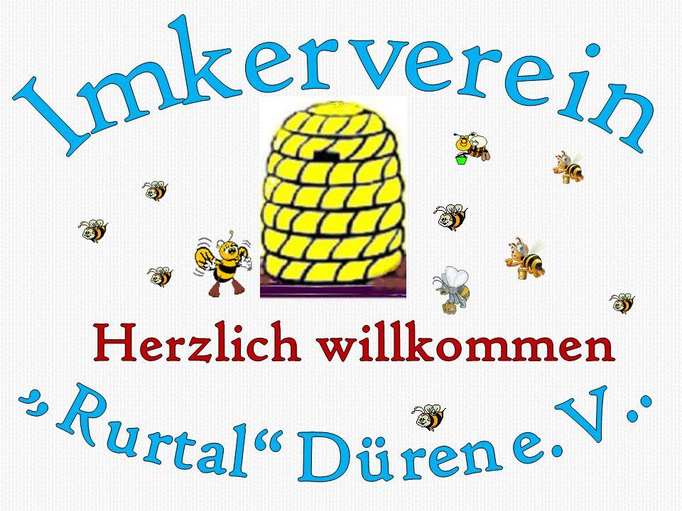 """Herzlich willkommen Imkerverein """"Rurtal Düren e.V.."""