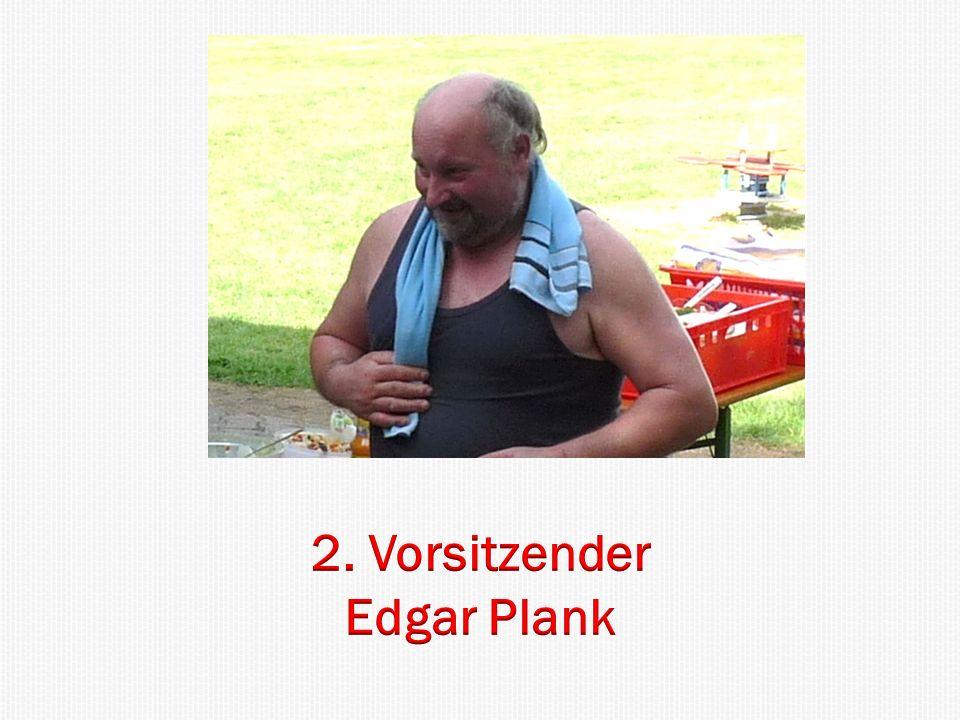 2. Vorsitzender Edgar Plank