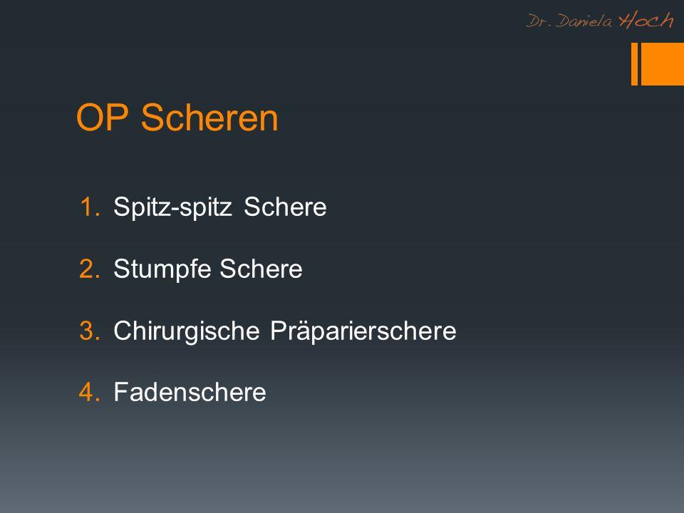 OP Scheren Spitz-spitz Schere Stumpfe Schere