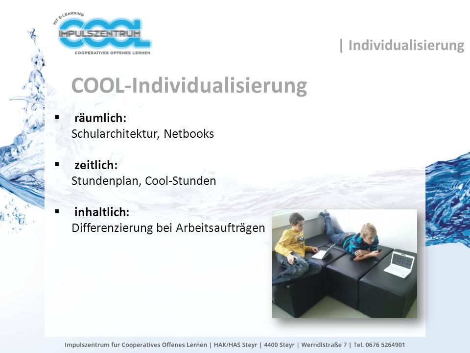 COOL-Individualisierung