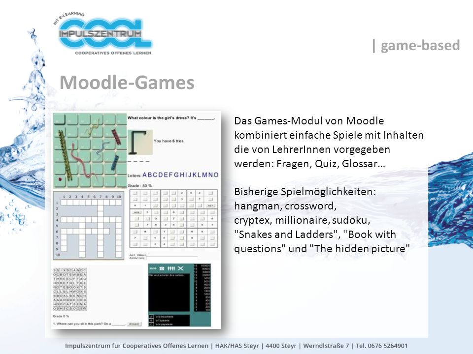 Moodle-Games | game-based