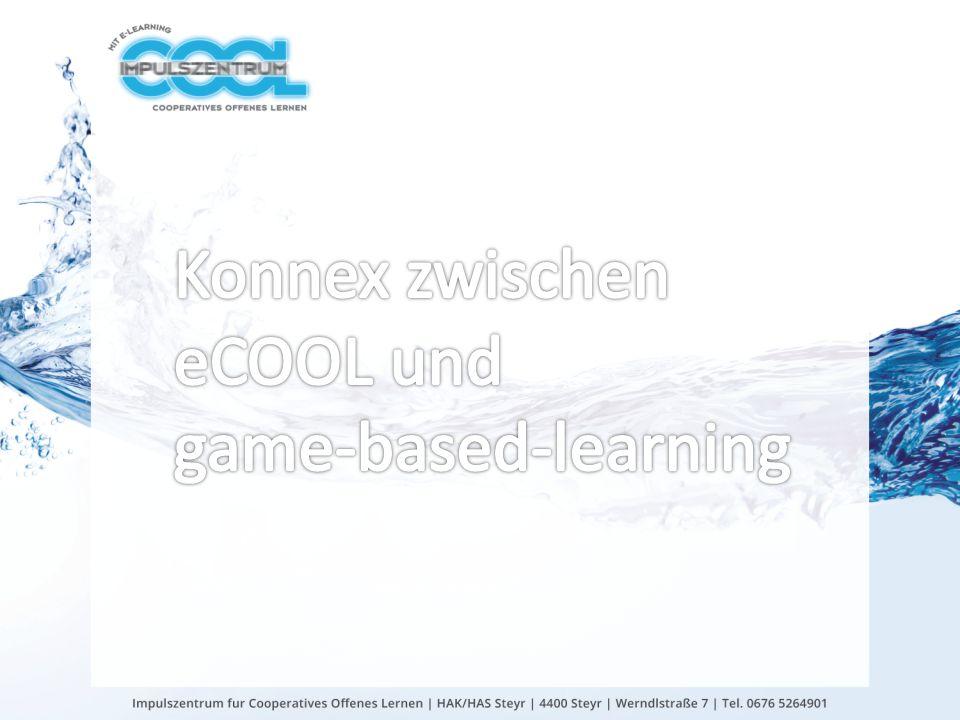 Konnex zwischen eCOOL und game-based-learning