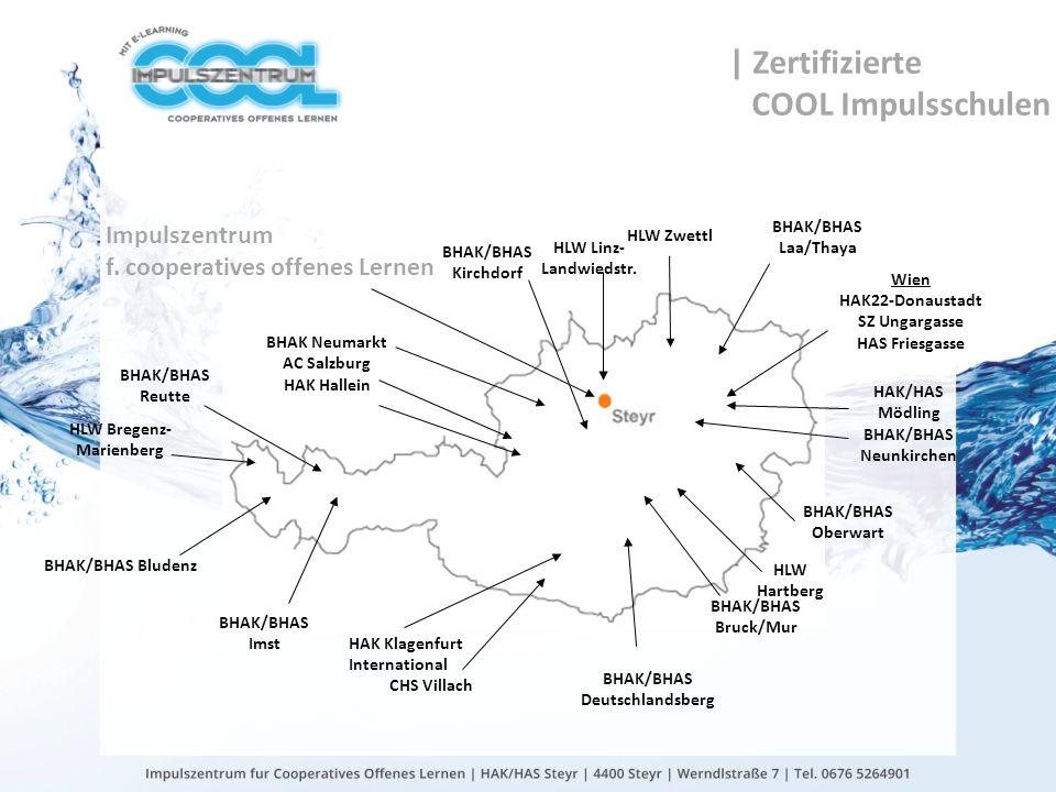 | Zertifizierte COOL Impulsschulen