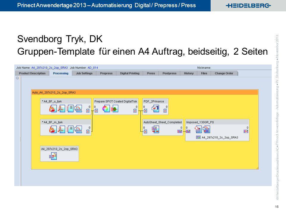 Svendborg Tryk, DK Gruppen-Template für einen A4 Auftrag, beidseitig, 2 Seiten