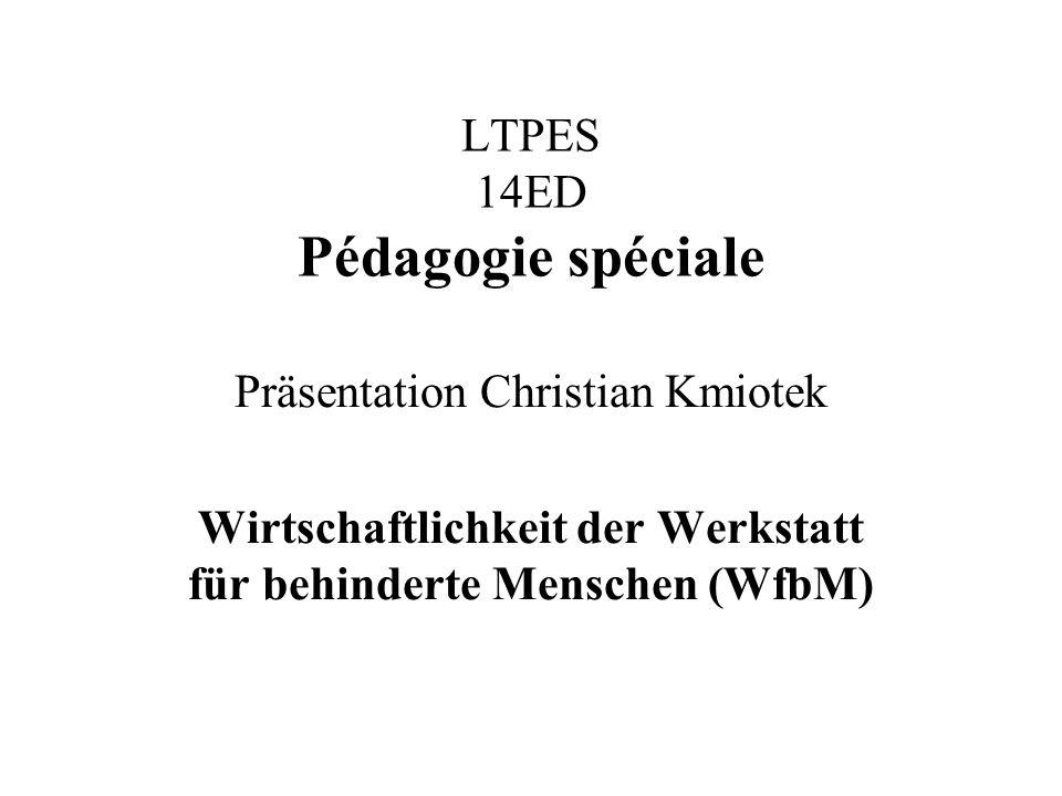 LTPES 14ED Pédagogie spéciale