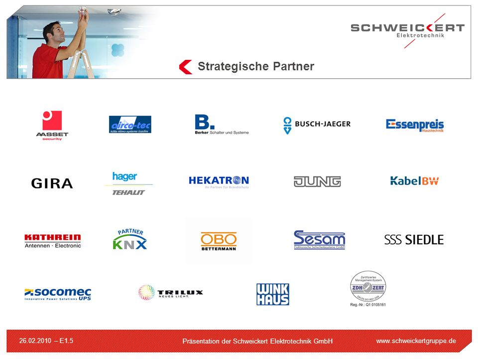 Strategische Partner 26.02.2010 – E1.5