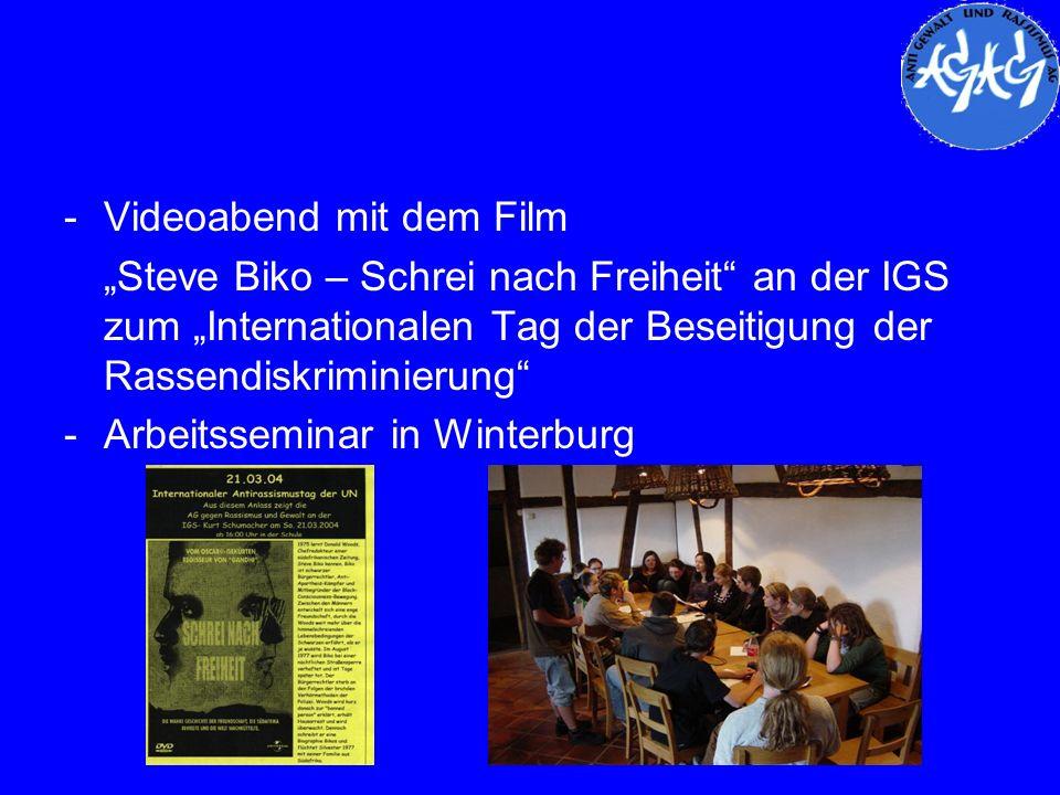 Videoabend mit dem Film