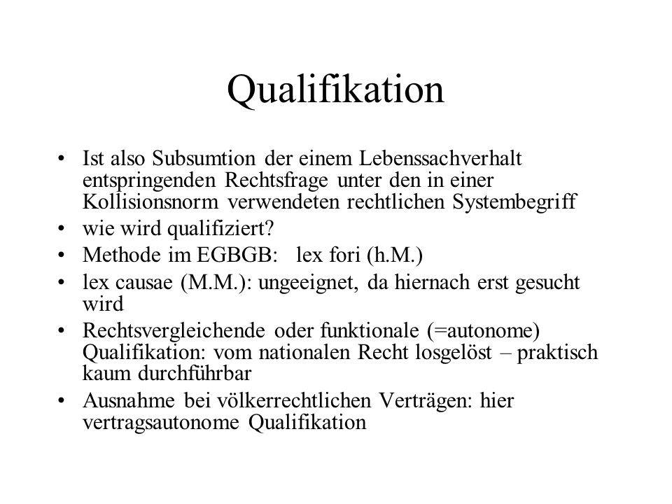 Qualifikation