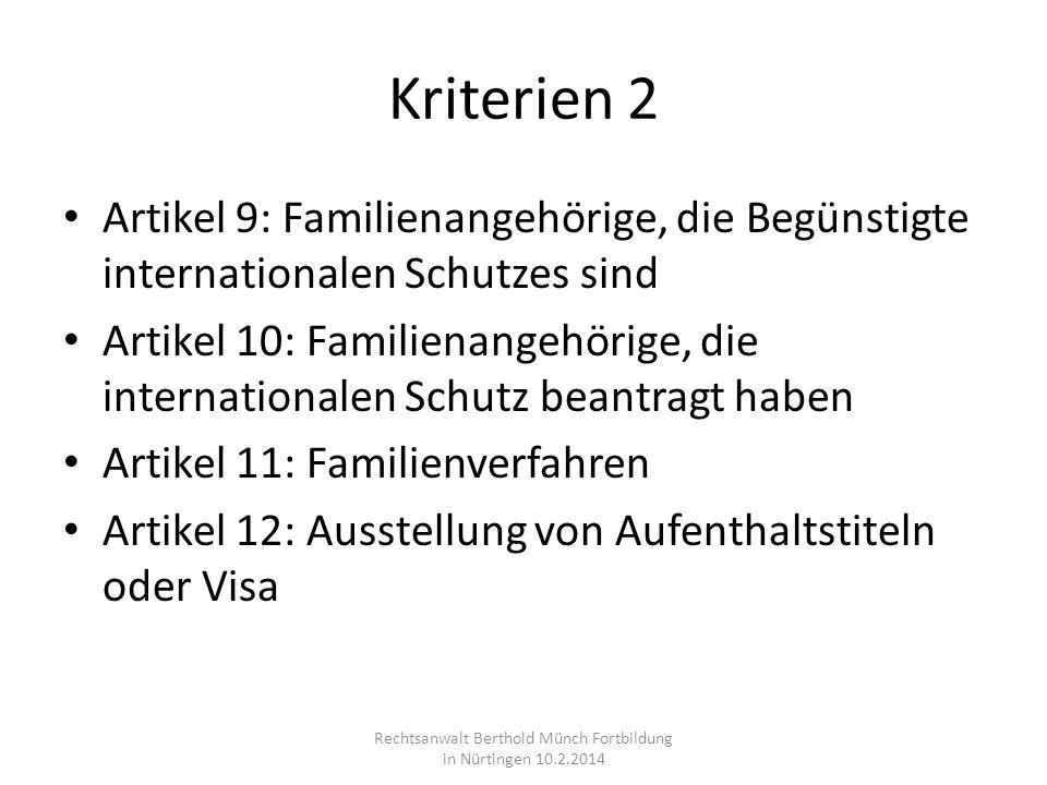Rechtsanwalt Berthold Münch Fortbildung in Nürtingen 10.2.2014