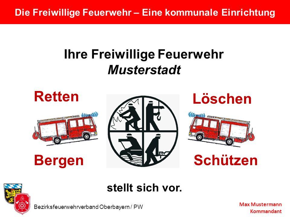 Die Freiwillige Feuerwehr – Eine kommunale Einrichtung