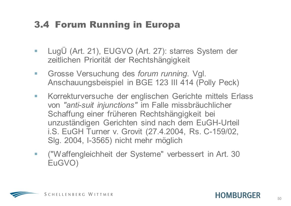 3.4 Forum Running in Europa