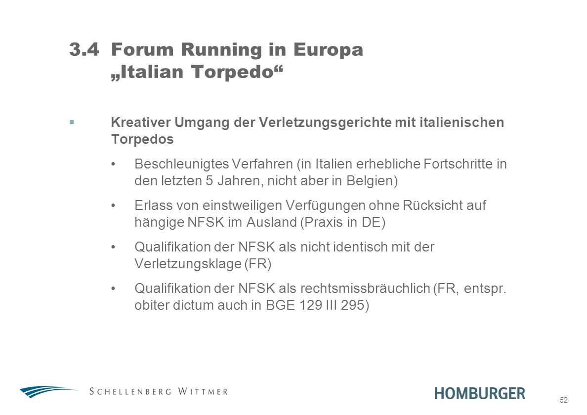 "3.4 Forum Running in Europa ""Italian Torpedo"