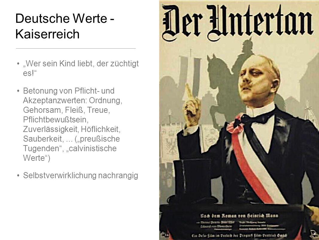 Deutsche Werte - Kaiserreich