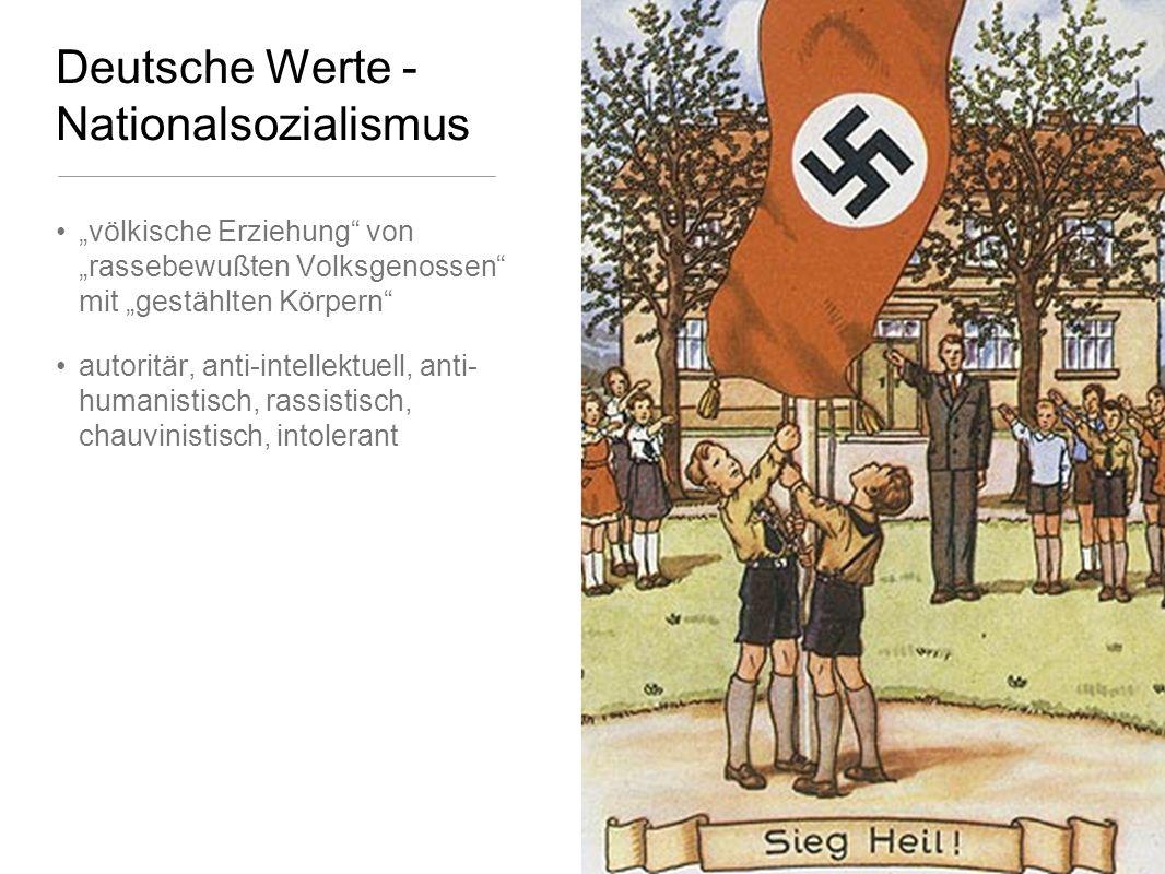 Deutsche Werte - Nationalsozialismus