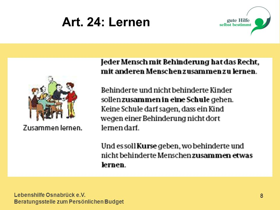 Art. 24: Lernen Lebenshilfe Osnabrück e.V. 8