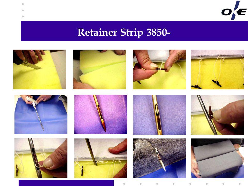 Retainer Strip 3850- Hier Informationen Ihrer Wahl hinzufügen