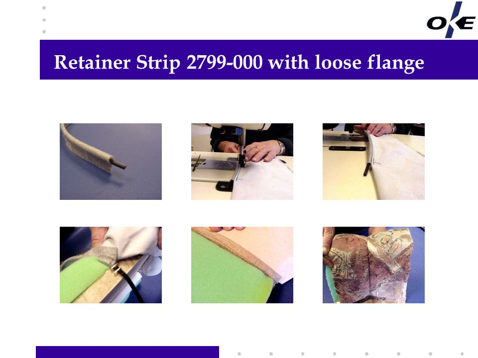 Retainer Strip 2799-000 with loose flange