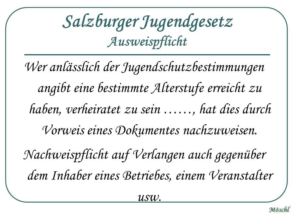 Salzburger Jugendgesetz Ausweispflicht