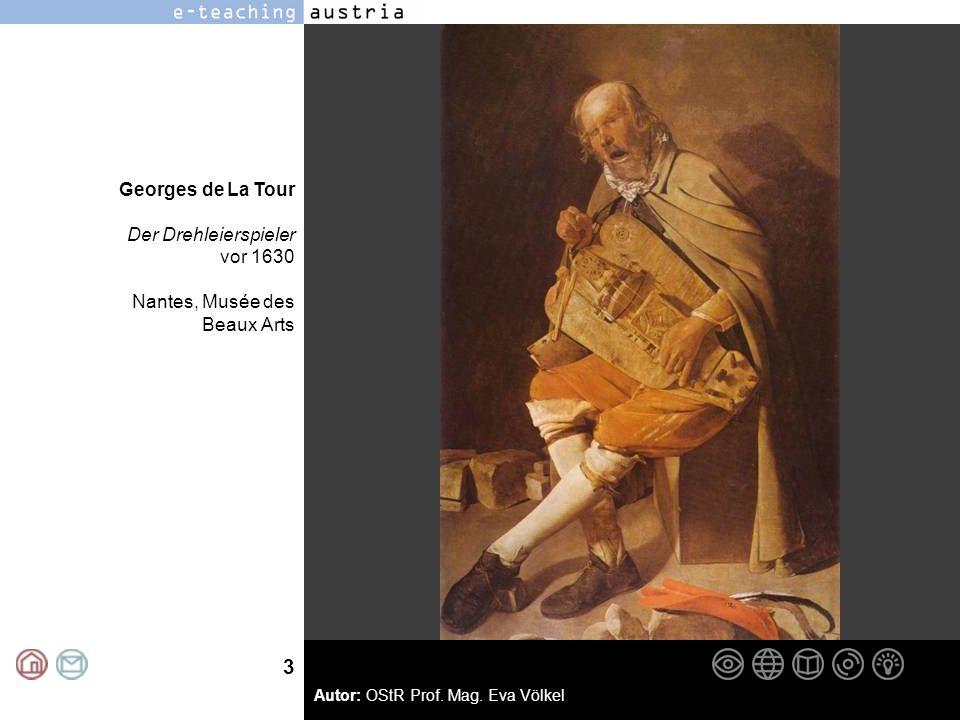 Georges de La Tour Der Drehleierspieler vor 1630 Nantes, Musée des Beaux Arts