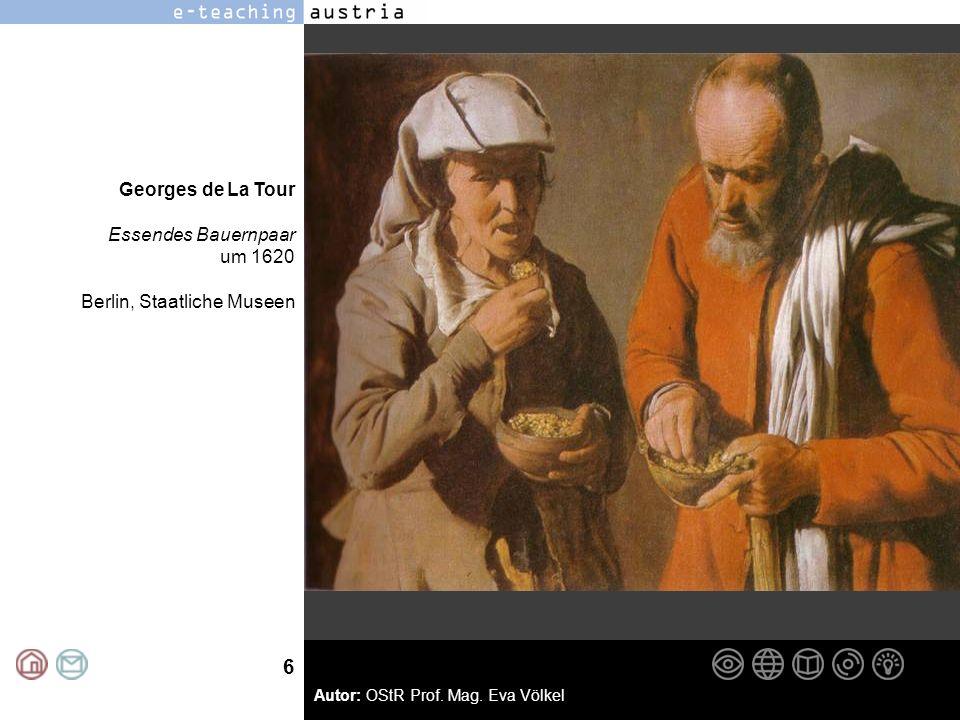 Georges de La Tour Essendes Bauernpaar um 1620 Berlin, Staatliche Museen