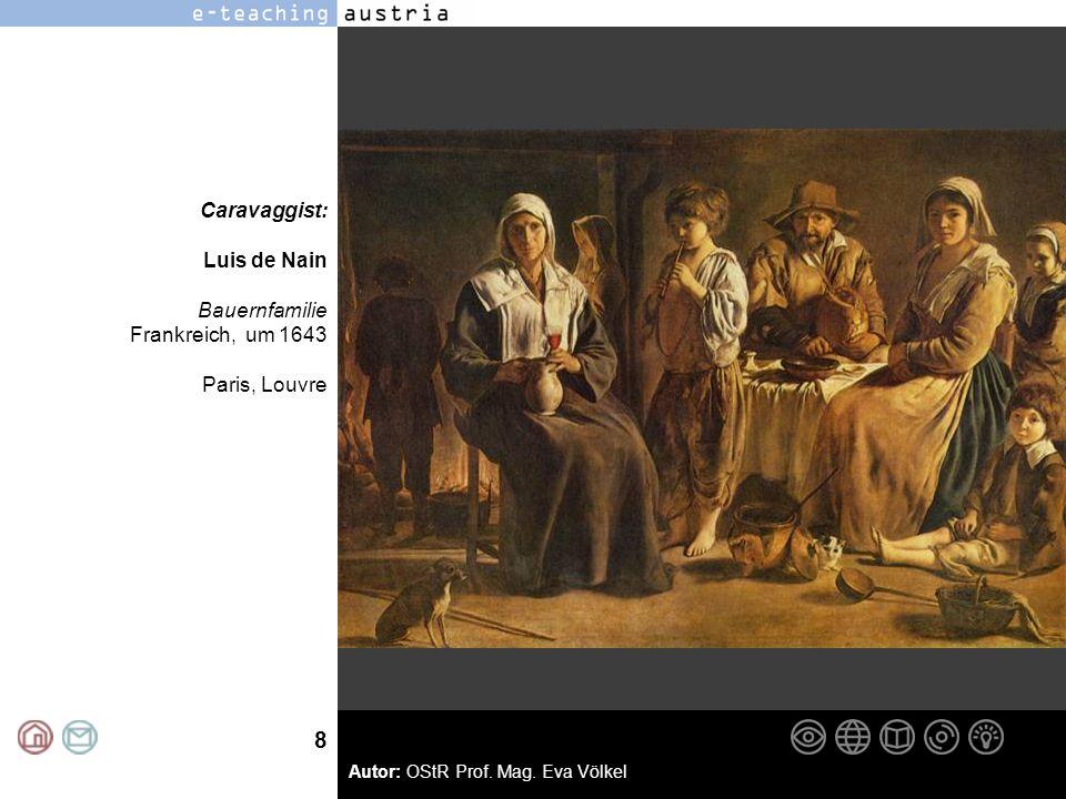 Caravaggist: Luis de Nain Bauernfamilie Frankreich, um 1643 Paris, Louvre