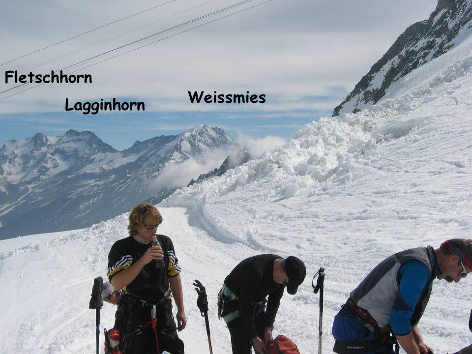 Fletschhorn Weissmies Lagginhorn