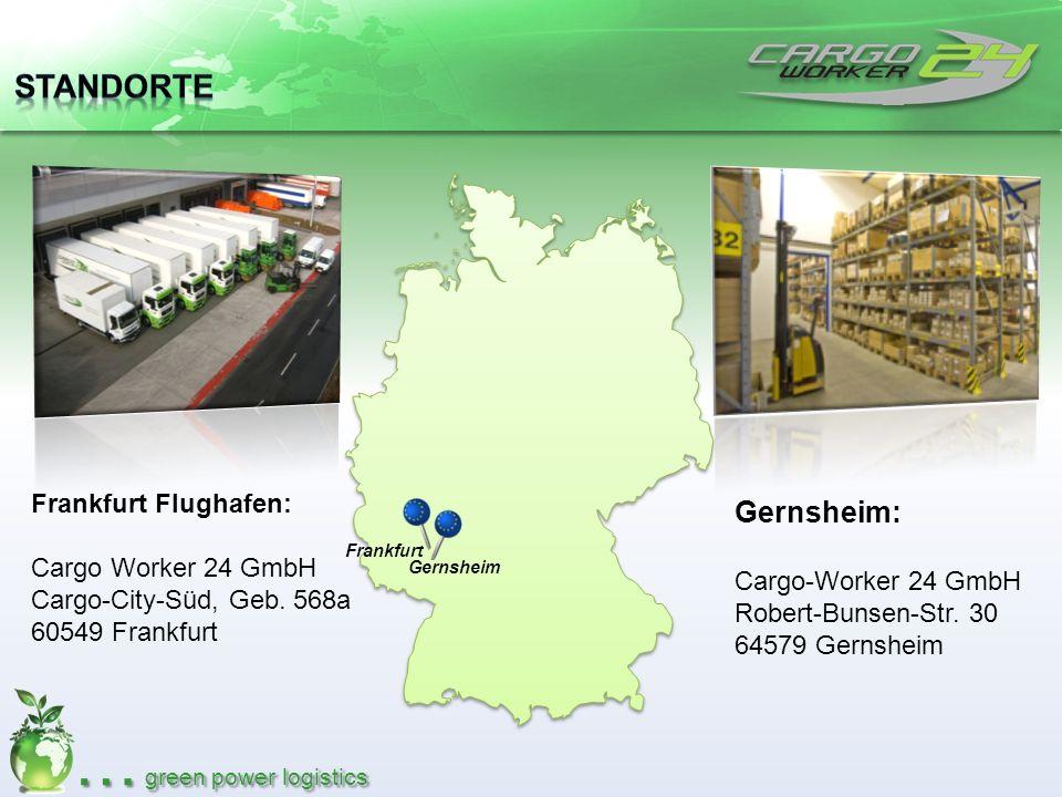 Standorte Gernsheim: Frankfurt Flughafen: