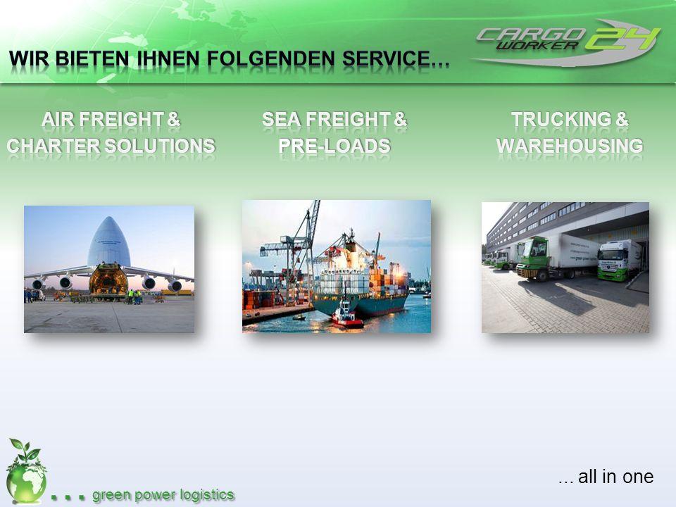 Wir bieten Ihnen folgenden Service…