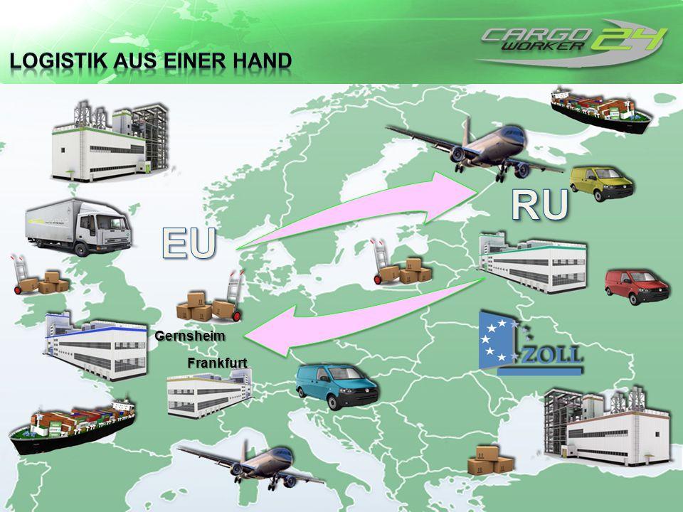 Logistik aus einer Hand